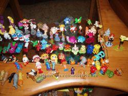 Игрушки из киндера поштучно или коллекцией.