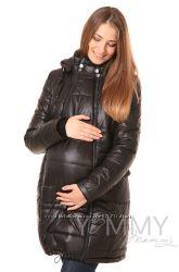 Пальто зимнее 3в1 до -35 градусов арт 80921 черное - Ямми Мамми