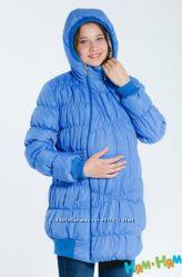 Зимняя куртка 3в1 Комфорт до -15 градусов - голубая - Ням-Ням
