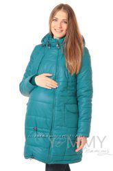 Пальто зимнее 3в1 до -35 градусов арт 80923 морская волна - Ямми Мамми