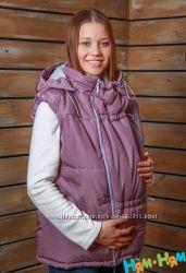 Утепленный жилет 4 цвета 3в1 обычный беременность слингоношение Ням-ням