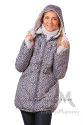 Демисезонная куртка 3в1  мод 801123 горохи клетка - Ямми Мамми