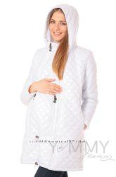 Куртка зимняя стеганная 3в1 до -30 градусов арт 80824 белая - Ямми Мамми