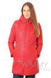Куртка зимняя стеганная 3в1 до -30 градусов арт 80822 красная - Ямми Мамми