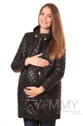 Куртка зимняя стеганная 3в1 до -30 градусов арт 80821 черная - Ямми Мамми