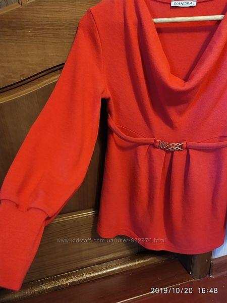 красивый свитер Дианора р. S в отличном состоянии