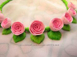 Бусики для девочки, колечко и клипсы Мечта принцессы