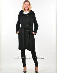Стильное женское пальто с капюшоном, Hellen