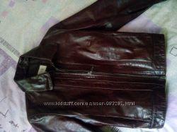 Куртка next натуральная кожа