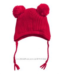зимняя шапка H M на флисе 6-24 мес 255478030f73d