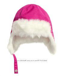 зимняя шапка H&M на флисе 1-2 года