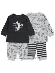George пижама george 2-3 года комплект поштучно