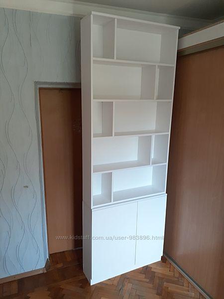 Шкаф двухсекционный с полками