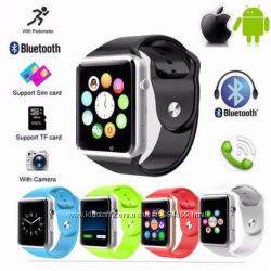 6 цветов Смарт часы Smart Watch A1 стиль Apple