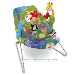 Детское кресло-качалка Fisher-Price с музыкой и вибрацией