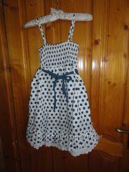 Оригінальне літнє плаття для дівчинки 134-140 см. MAYORAL.