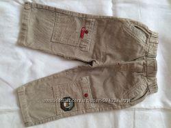 Зручні вельветові штани для хлопчика 86 см. COCCOBELLO.