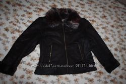 Две эко-дубленки, курточки DENIM