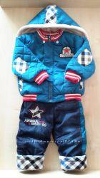 Зимний костюм на мальчика 18м