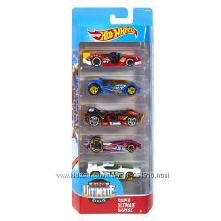 Hot Wheels 5 моделек , в ассортименте