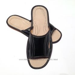 Тапочки мужские кожаные, 40-41р