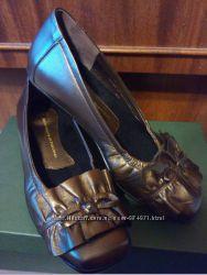 Женские кожаные туфли 1803 shoes. Оригинал