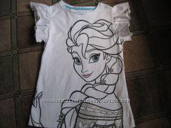 Фирменная белоснежная футболка Young Dimension на 6-7-8 лет.
