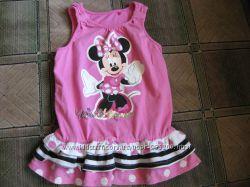 Фирменное платье Disney на 1-2 года с Мини Маус