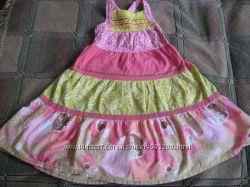 Нарядное фирменное платье Next на 2-4 года
