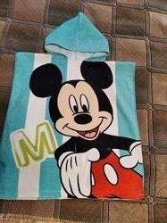 Полотенце с капюшоном Дисней Микки Маус