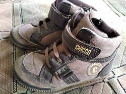 Демисезонные ботинки Chicco 28 размер стелька 18