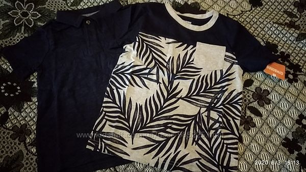 Новая футболка, поло gymboree р.4t