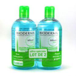 Мицеллярная вода Bioderma Sebium 500мл. в наличии. Есть самовывоз