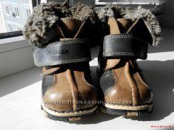 Продам зимние кожанные сапожки фирмы ONCELLER KIDS
