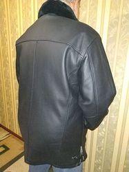 Продам кожаную мужскую зимнюю куртку 8XL. Состояние новой.