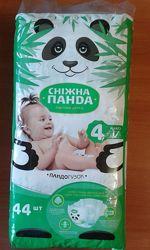 подгузники Снежная панда 4 вес 7-18 кг - 44штуп