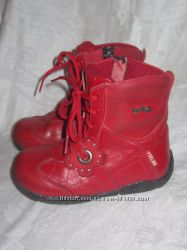 Ботинки кожаные демисезонные, разм. 23, стелька-15 см