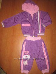 Куртка со штанами демисезонная, от1-3 лет, в подарок реглан