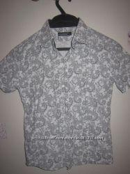 Рубашка как новая, хлопок, от 5-8 лет, размер 7