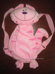 Рюкзак - игрушка, меховой , супер качество, идеальное состояние