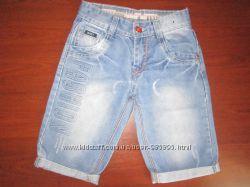Шорты - бриджи джинсовые MANY&MANY, размер 8Y, на 6 - 9 лет, отл. сост.