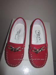 Туфли, мокасины, 26 размер, стелька-16, 5 см, состояние новых
