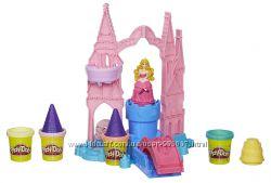 Hasbro Дворец принцессы Play-Doh Игровой набор Чудесный замок Авроры