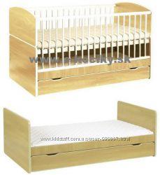 Скидка Кроватка Klups Bartek II, 14070 см с ящиком, материал - сосна.