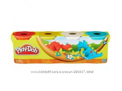 Набор пластилина Play-Doh, 4 контейнера 560 грамм, в асс.