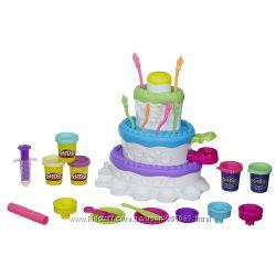 Распродажа Набор для лепки Play-Doh Праздничный торт