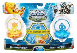 набор  Max Steel Огненный Элементор против Трансформеров