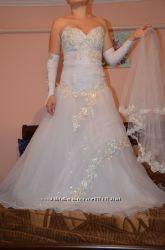 Продам свадебное платье бу не дорого
