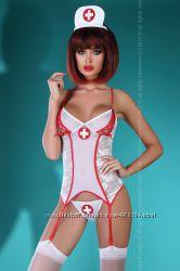 Костюм наряд медсестры, горничной, стюардессы, официантки, полицейского и д