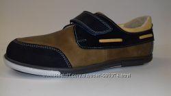 Туфли-мокасины  для подростка Т - 24м. Натуральная кожа.